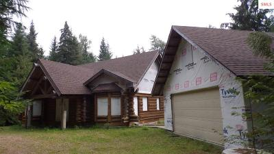 Bonners Ferry Single Family Home For Sale: 3245 Bethlehem Rd