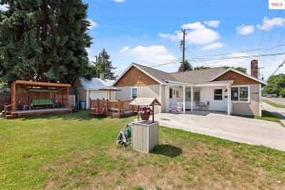 Coeur D'alene Single Family Home For Sale: 1147 N 7th