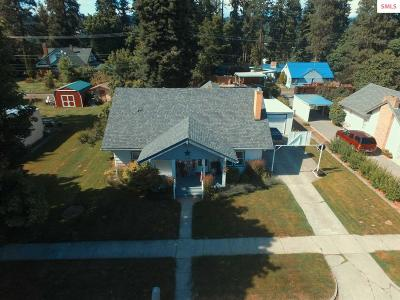 Bonners Ferry Single Family Home For Sale: 6545 Madison St