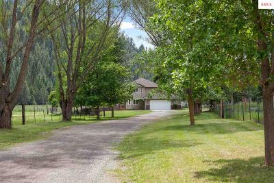 Coeur D'alene Single Family Home For Sale: 3543 N Wyatt Road