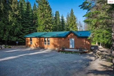 Sandpoint Single Family Home For Sale: 149 Scott Lane