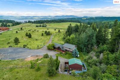 Coeur D'alene Single Family Home For Sale: 25027 S Loffs Bay Rd