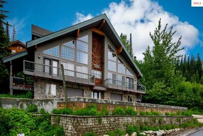 Mountainside, Schweitzer Condo/Townhouse For Sale: 448 Crystal Springs #b
