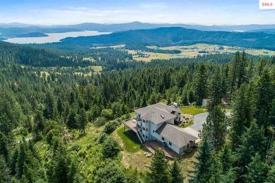 Coeur D'alene Single Family Home For Sale: 1175 S Reynolds Rd
