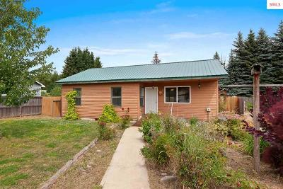 Sandpoint Single Family Home For Sale: 87 Red Clover Drive