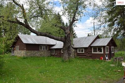 Boundary County Single Family Home For Sale: 1300 Moyie River Rd