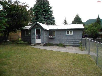 Clark Fork ID Single Family Home For Sale: $109,500