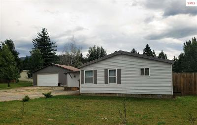 Bonners Ferry Single Family Home For Sale: 6264 McCall Street