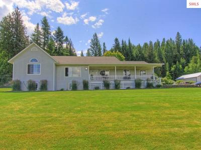Bonners Ferry Single Family Home For Sale: 6735 Labrosse Hill St.