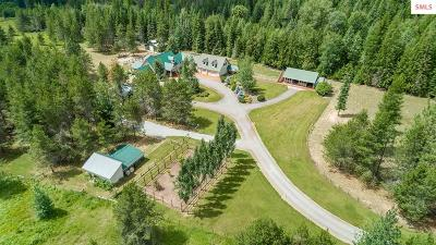 Sandpoint Single Family Home For Sale: 3688 Wrenco Loop Road