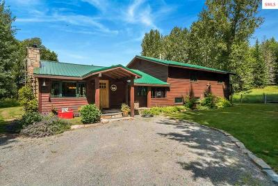 Sandpoint Single Family Home For Sale: 5564 Colburn Culver Rd.