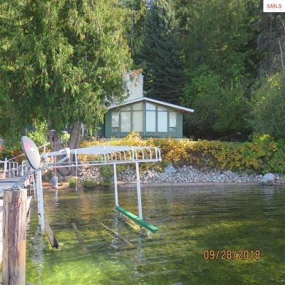 Bonner County, Boundary County, Kootenai County Single Family Home For Sale: 158 Cutthroat Road