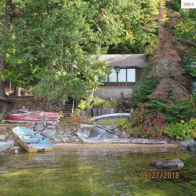 Bonner County, Boundary County, Kootenai County Single Family Home For Sale: 42 N Two Creeks Road