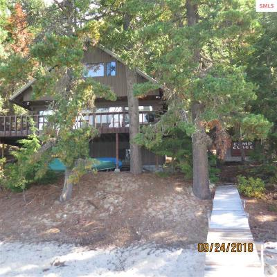 Bonner County Single Family Home For Sale: 1903 N Camp Cudge Road