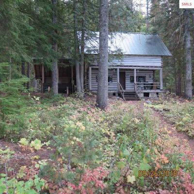 Bonner County Single Family Home For Sale: 1527 W Priest Lake Shore