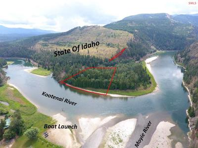 Bonners Ferry Residential Lots & Land For Sale: Nna Two Tail Rd