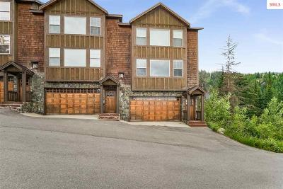 Mountainside, Schweitzer Condo/Townhouse For Sale: 34 Whiplash Cr