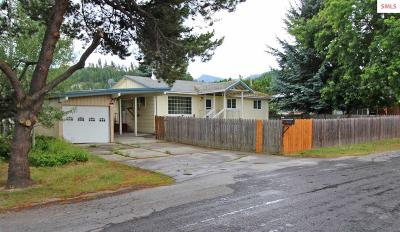 Bonners Ferry ID Single Family Home For Sale: $184,000