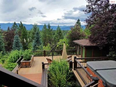 Sandpoint Single Family Home For Sale: 2875 Gold Creek Rd