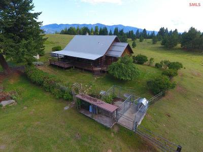 Boundary County Single Family Home For Sale: 800 Grouse Hill Rd