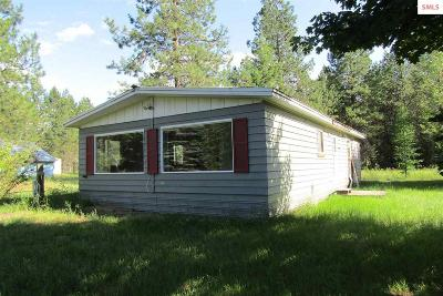 Sandpoint Single Family Home For Sale: 490606 Highway 95