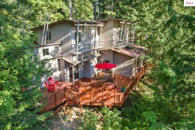 Priest Lake Single Family Home For Sale: 62 Hummingbird Ln