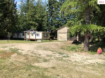 Bonners Ferry Single Family Home For Sale: Nna Orchard Rd.