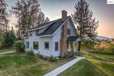 Bonner County Single Family Home For Sale: 470 Rusho Ln