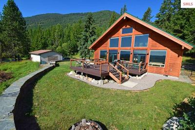 Bonners Ferry Single Family Home For Sale: 5040 Westside Rd