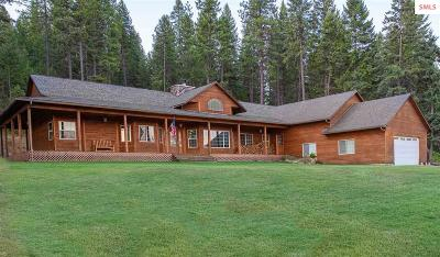 Priest River Single Family Home For Sale: 4417 Eastside Road.
