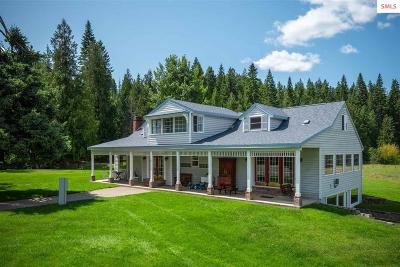 Priest River Single Family Home For Sale: 3465 Old Priest River Rd