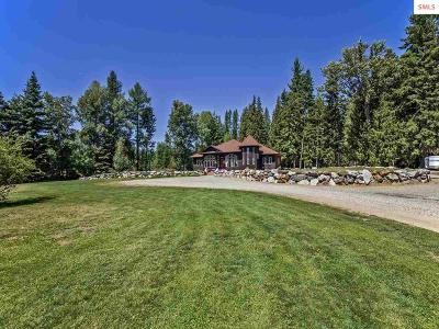 Sandpoint Single Family Home For Sale: 33071 &33073 Hwy 200