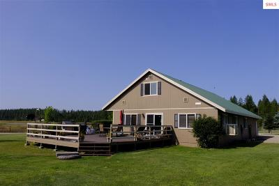 Priest River Single Family Home For Sale: 391 Nitty Gritty