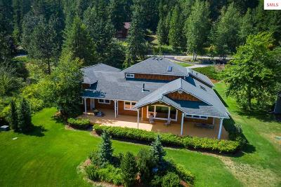 Sandpoint Single Family Home For Sale: 767 Lower Pack River Rd