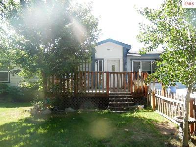 Ponderay Single Family Home For Sale: 1100 Kootenai Cutoff #50