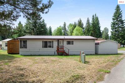Sagle Single Family Home For Sale: 468800 Highway 95