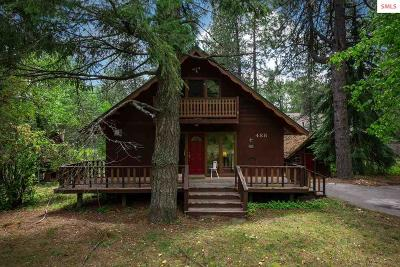Sandpoint Single Family Home For Sale: 488 Schweitzer Mountain Road