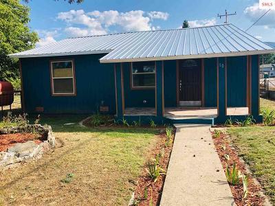 Priest River Single Family Home For Sale: 10 E Jefferson