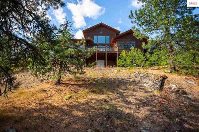 Bonner County, Boundary County, Kootenai County Single Family Home For Sale: 378 Roberts Ridge Rd.
