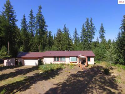 Boundary County Single Family Home For Sale: 1261 Blue Sky Road