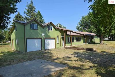 Boundary County Single Family Home For Sale: 1749 Roosevelt Rd