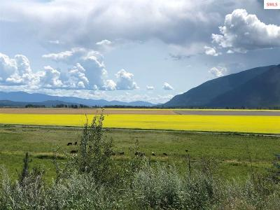 Bonners Ferry Residential Lots & Land For Sale: Nka Farm To Market Rd
