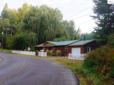 Bonners Ferry Single Family Home For Sale: 6914 Hazel St