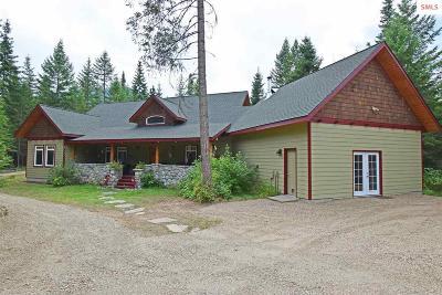 Clark Fork Single Family Home For Sale: 494 Derr Rd