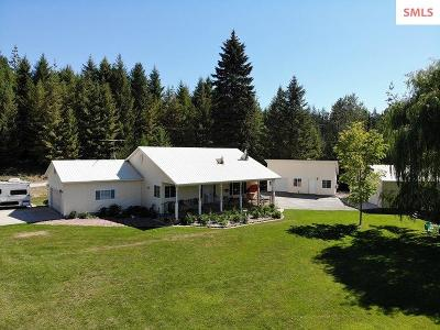 Sandpoint Single Family Home For Sale: 486732 N Hwy 95