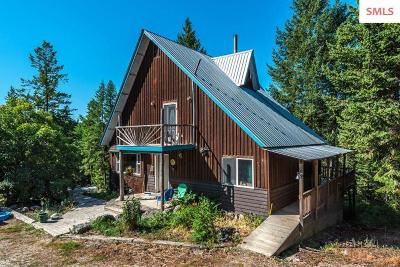 Bonners Ferry Single Family Home For Sale: 638 Foxglove Road