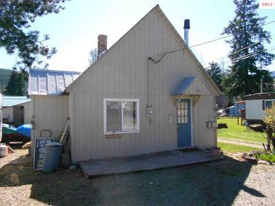 Clark Fork Single Family Home For Sale: 106 Mill Street