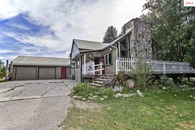 Sandpoint  Single Family Home For Sale: 190 Hidden Valley Road