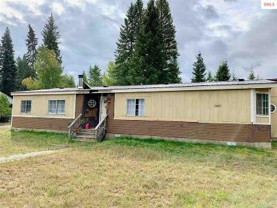 Sandpoint Single Family Home For Sale: 401 Gold Creek Rd