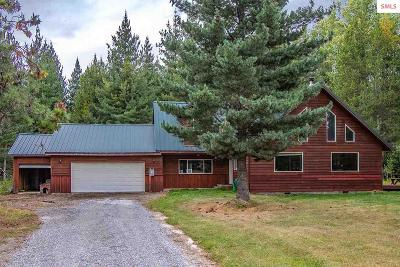 Sandpoint  Single Family Home For Sale: 1454 N Center Valley